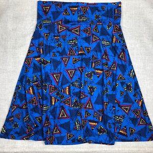 2/$25 LuLaRoe Azure Skirt sz XL
